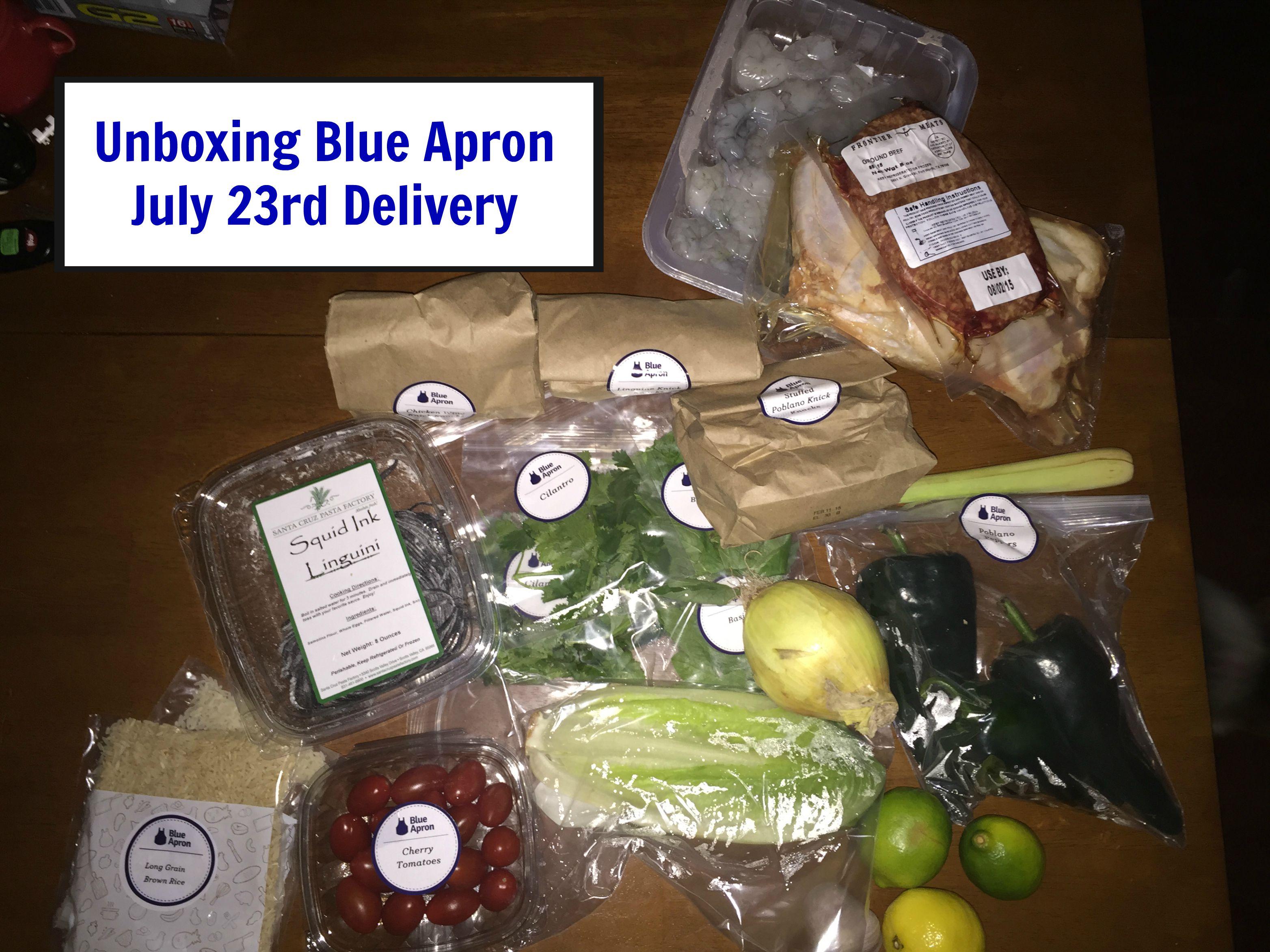 Blue apron box - Blue Apron Box 45