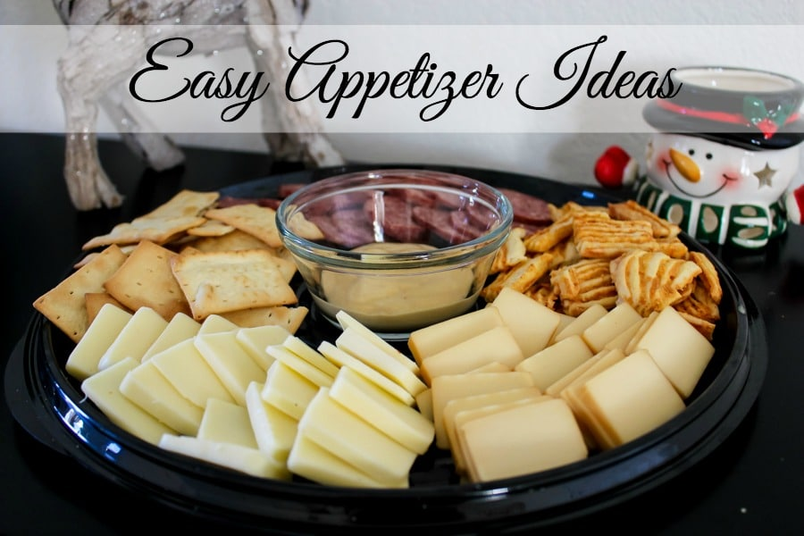 Three Easy Appetizer Ideas to try this Holiday