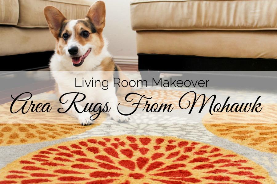 Living Room Makeover: Adding An Area Rug