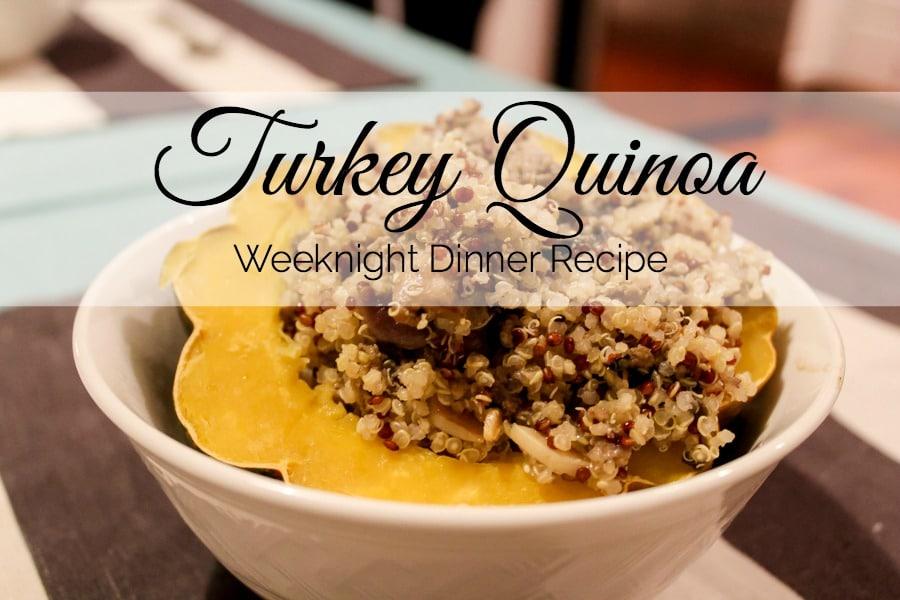 Weeknight Dinner: Turkey Quinoa Recipe