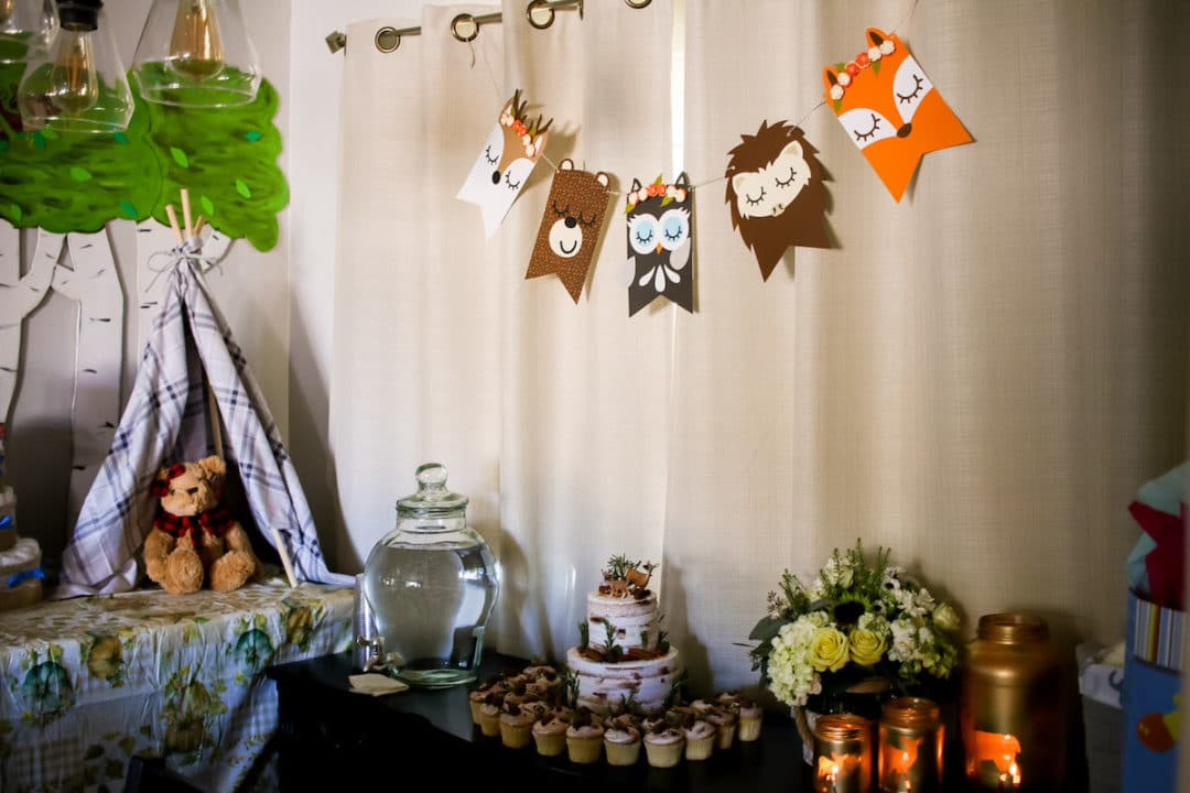 Animal Themed Baby Shower Decorations  from rockymtnbliss.com